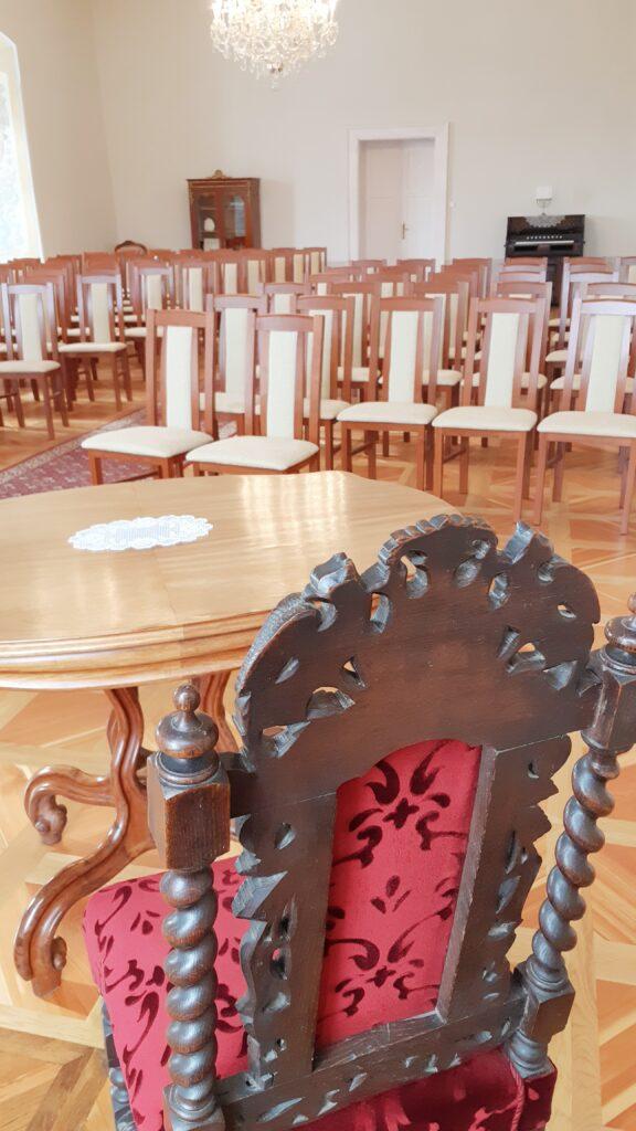 Hudební sál, místo pro velké svatby