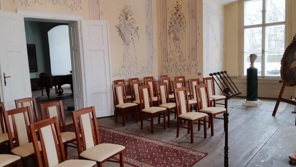 Rokokový svatební salonek